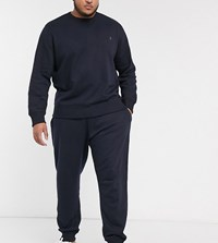French Connection Essentials Plus Jogger In Slim Fit In Navy