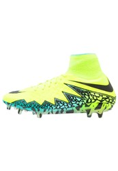 Nike Performance Hypervenom Phantom Ii Fg Football Boots Neon Yellow