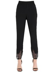 Ermanno Scervino Cady And Lace Pants