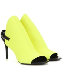 Balenciaga Leather Sandals Yellow