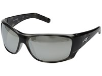 Arnette Heist 2.0 Grey Havana Grey Mirror Sport Sunglasses Black
