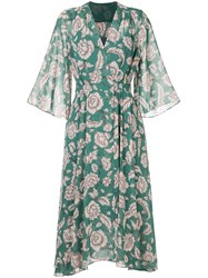Cityshop Floral Print Dress Green
