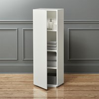 Cb2 The Wall Bath Cabinet