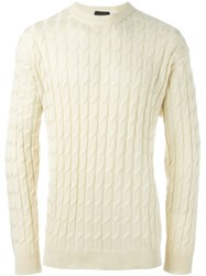 Christian Dior Vintage Cable Knit Jumper Nude And Neutrals