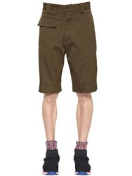 Marni Stretch Cotton Bermuda Shorts
