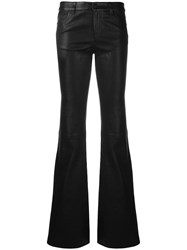 Alice Olivia Bella Flared Trousers Black