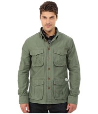 Deus Ex Machina Bravo Overshirt Jacket Army Green Men's Coat