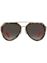 Matthew Williamson Aviator Frame Sunglasses