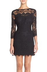 Women's Bb Dakota 'Natalia' Lace Sheath Dress
