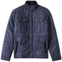 Barbour X White Mountaineering Vela Quilt Jacket Blue