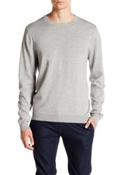 Wallin And Bros Trim Fit Crew Neck Sweater Gray