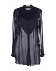Thierry Mugler Mugler Shirts Dark Blue