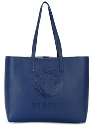 Versus Large Double Straps Tote Blue