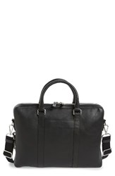 Shinola Men's Signature Leather Briefcase