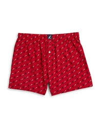 Nautica Cotton Knit Boxers Anchor