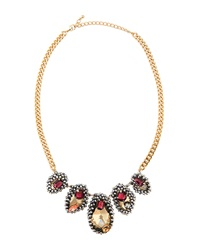 Fragments For Neiman Marcus Fragments Jewel Encrusted Station Necklace