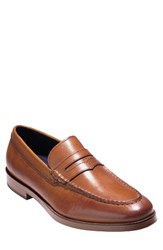 Cole Haan Men's Hamilton Grand Penny Loafer British Tan Leather