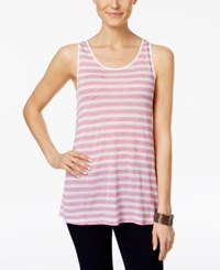 G.H. Bass And Co. Striped Tank Top Passion Combo