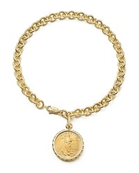 Bloomingdale's Coin Charm Bracelet In 14K Yellow Gold 100 Exclusive