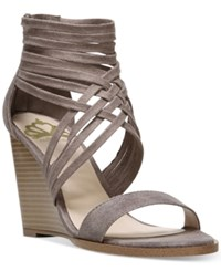 Fergalicious Hunter Wedge Strappy Sandals Women's Shoes Doe