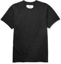 Reigning Champ Loopback Cotton Jersey T Shirt Black