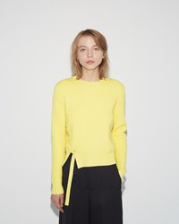 Proenza Schouler Side Lacing Pullover Sun Yellow