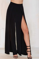 Nasty Gal Make A Peep Palazzo Pants Black