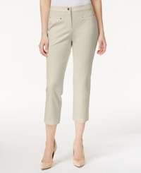 Charter Club Stretch Cropped Pants Only At Macy's Sand