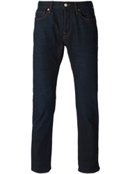 Paul Smith Jeans Straight Leg Jeans Blue