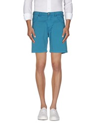Versace Jeans Trousers Bermuda Shorts Men Deep Jade