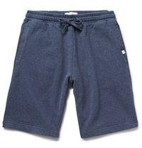 Derek Rose Devon Loopback Cotton Jersey Shorts Blue
