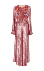 Temperley London Wild Horse Jumpsuit Pink