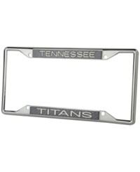 Stockdale Tennessee Titans Carbon License Plate Frame Gray