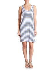 Csbla Rimini Striped Tank Dress Navy White