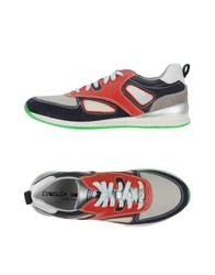 Frankie Morello Footwear Low Tops And Trainers Men Red