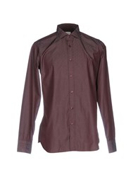 Caliban Shirts Maroon