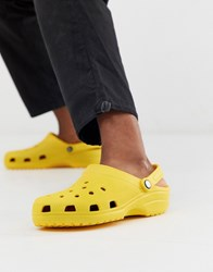 Crocs Classic Shoes In Yellow