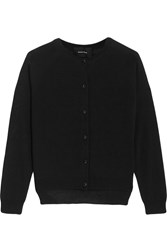 Simone Rocha Merino Wool Silk And Cashmere Blend Cardigan Black