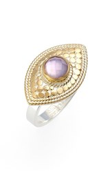 Women's Anna Beck 'Evil Eye' Ring Amethyst