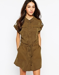 Esprit Utility Dress Khaki
