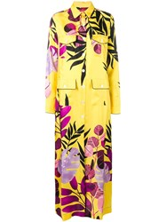 F.R.S For Restless Sleepers Botanical Shirt Dress Yellow