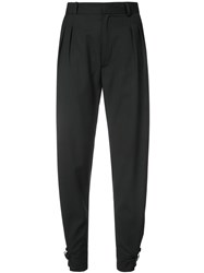 Alyx Fitted Tailored Trousers Black