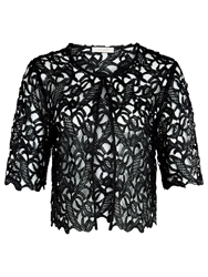 Kaliko Colbolt Lace Cover Up Black