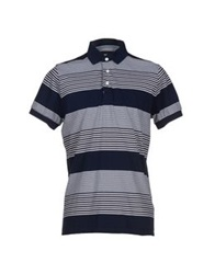 French Connection Polo Shirts Dark Blue