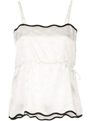 Morgan Lane Mona Cami Top White