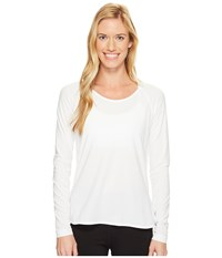 Lole Kendra Long Sleeve Top White Women's Long Sleeve Pullover