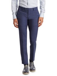 Saks Fifth Avenue Modern Suit Trousers Blue