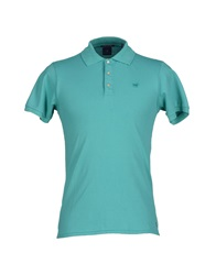 Scotch And Soda Polo Shirts Light Green