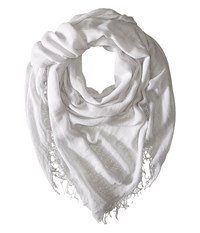 Chan Luu Cashmere And Silk Scarf Glacier Grey Scarves Gray
