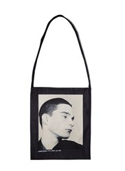 Raf Simons Isolated Heroes Denim Tote Bag Blue